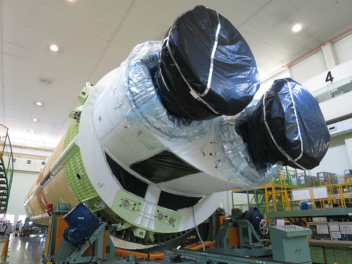 H-IIBロケット5号機コア機体 H-2B Rocket F5