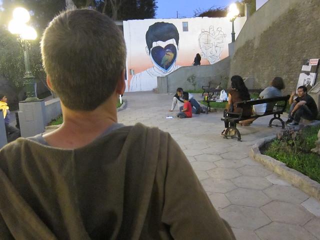 Bird Mural in Barranco