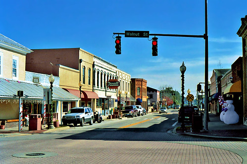 street architecture town downtown florida storefront signage starke commercialbuilding rexallsign