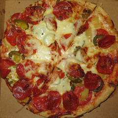 Pepperoni Pepperoni Pineapple Picante Pepper Pizza