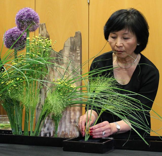 Ikebana mit Atsuko Bersma in Wien