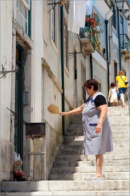 Sardynki na ulicach Lizbony