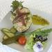 Aguacate relleno de atún y anchoas del Cantábrico