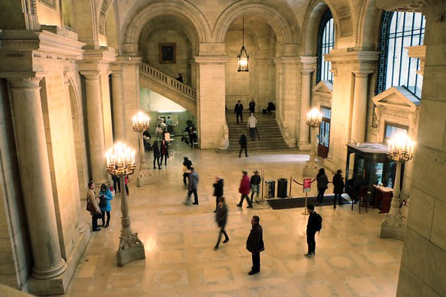 New York Public Library: interni