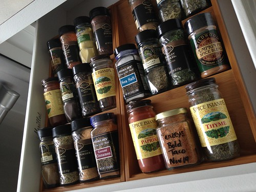 Organize a Kitchen Pantry with Baskets