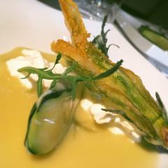 #visioni #cibo #food #noi #liberiamoci #zucchina #fioredizucca #ombrina #burrata