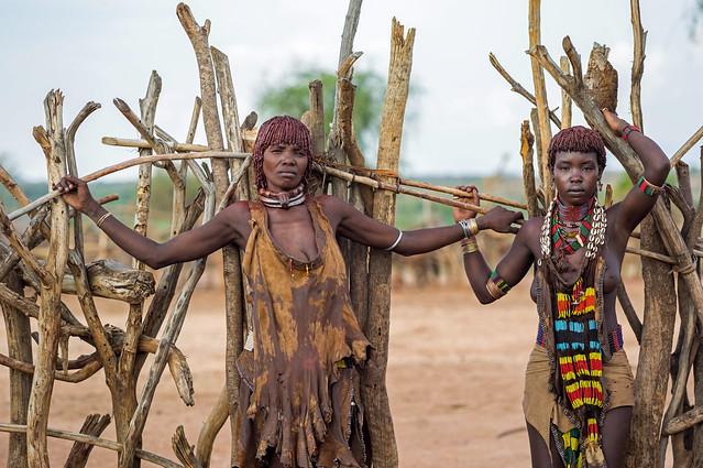 Hamer in Logara, near Turmi, Ethiopia