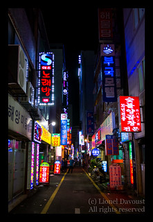Night life in Busan