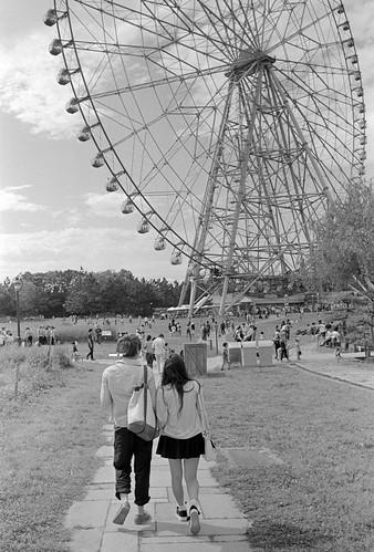 初デートは公園で。
