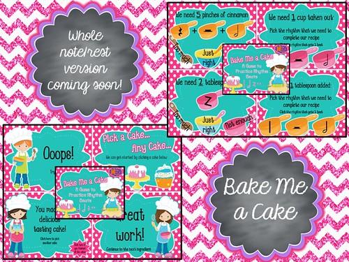 Bake Me a Cake Game