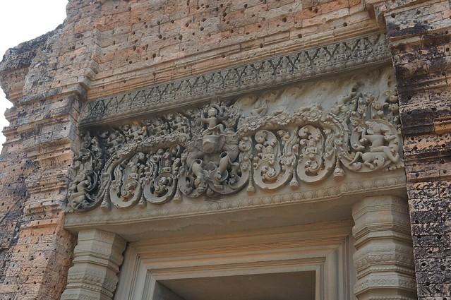Doorway lintel at East Mebon temple