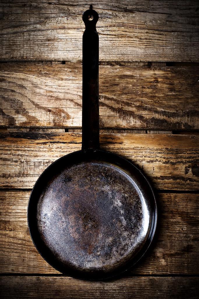 Vintage frying pan