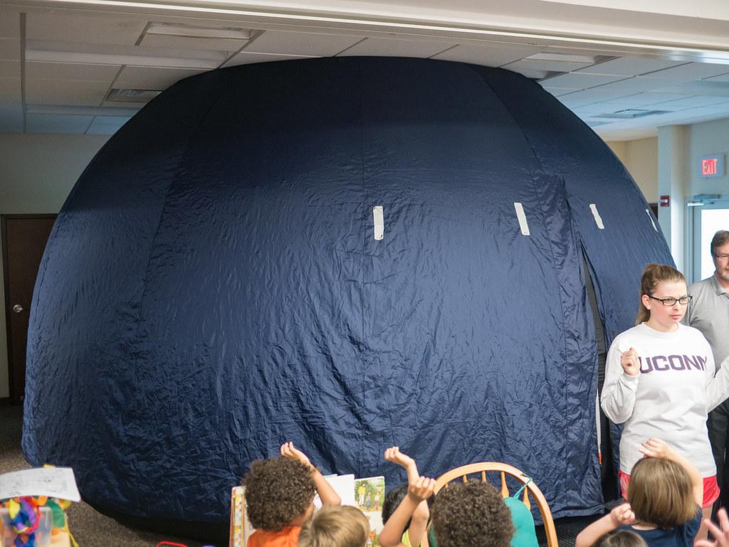 Planetarium in preschool