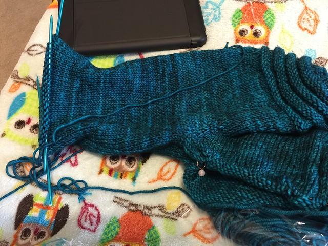 Thyri (supernatural) sweater progress