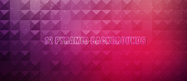 12 Pyramid Backgrounds