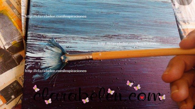 Como pintar madera con efecto de falso decapado