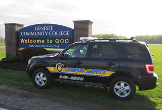 Wed, 05/13/2015 - 18:22 - The new GCC Campus Safety vehicle with new logo and phone number