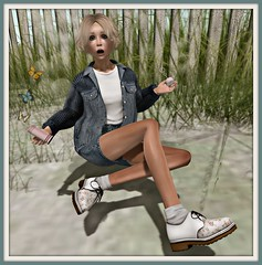[NAMI] denim outfit & YS&YS Oxfords with HUD