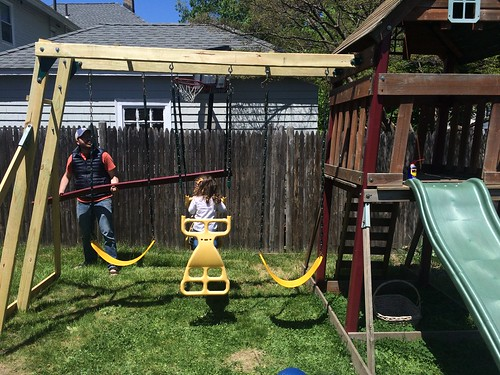 Swing set!