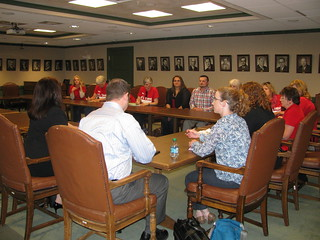 Reps. Caldier and Young meet with teachers from South Kitsap School District