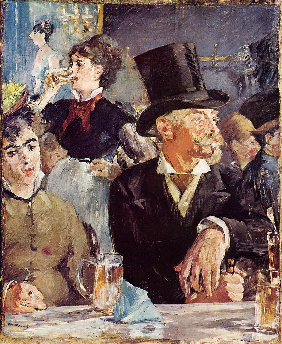 Cafe-Concert by Édouard Manet - 1878