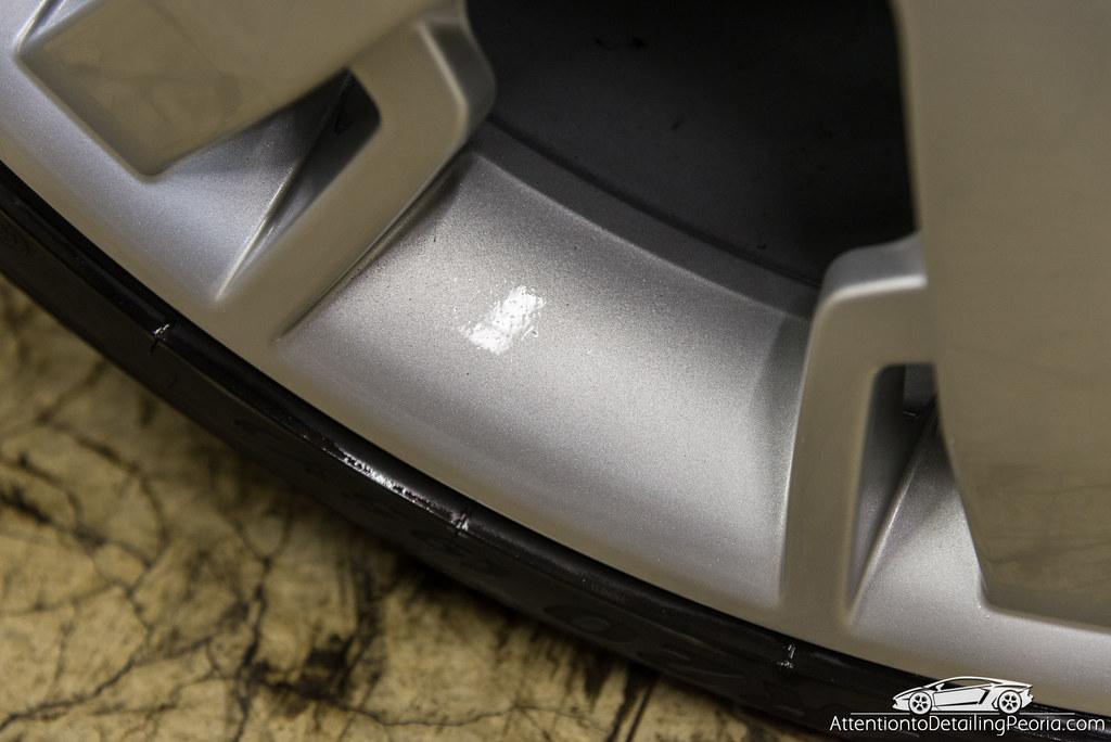 Maserati GranTurismo wheel protected with Sonax Wheel Rim Shield