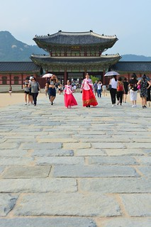 Bild av Gyeongbokgung Palace. asia korea southkorea gyeongbokgung palace gyeongbokgungpalace seoul 한국 경복궁 서울 traditional 韩国 首尔 景福宫