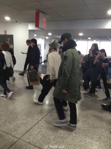 BIGBANG arrival Melbourne 2015-10-20 (1)
