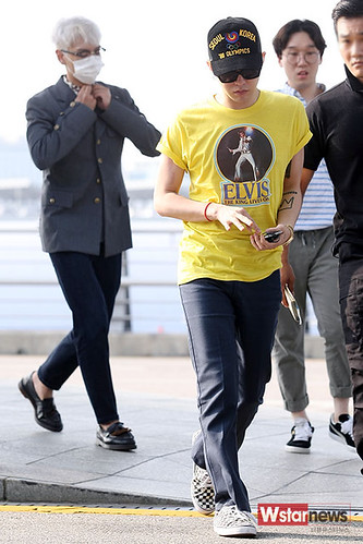 Big Bang - Incheon Airport - 07aug2015 - Wstarnews - 11