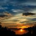 Sunset at Hill Trek by Mostakim Hossain Priyas