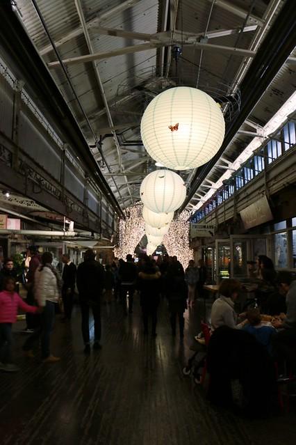 Chelsea Market: interni