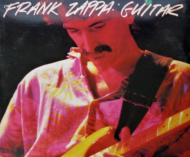 Frank Zappa Guitar 2lp Jazz Rock Vinyl Record Information