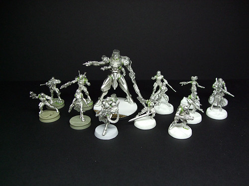 Assembled Infinity Minis
