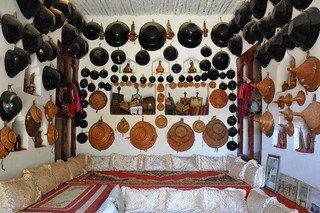 Local traditional Harari house, Harar, Ethiopia