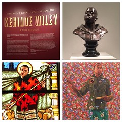 """DGALA, BADA, and DCNY visit the Kehinde Wiley exhibit """"A New Republic"""""""