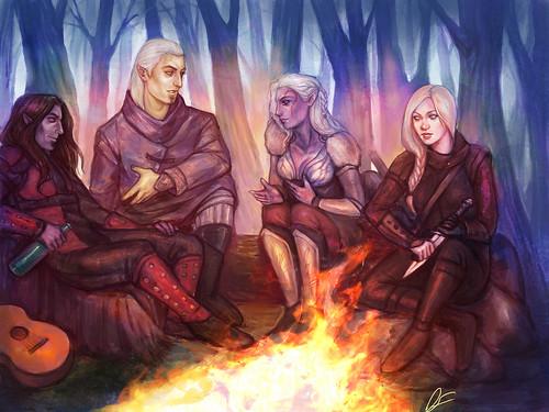 Старые истории (Рихо, Хостес, Вегра и Сольвейг) by dancinfox