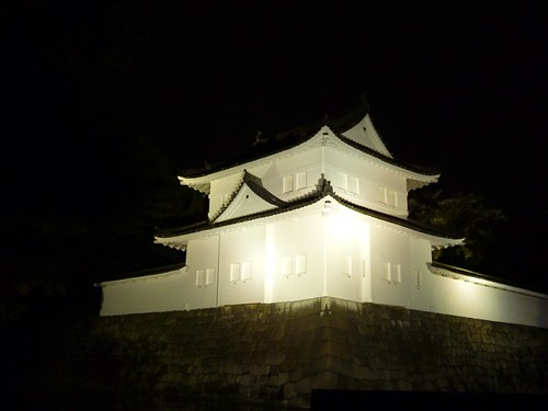 nijo castle tower