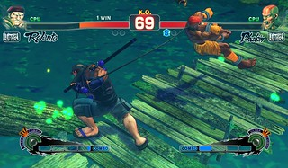 Ultra Street Fighter IV on PS4