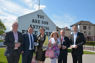campaign trail with Raymond McCartney, Padraig MacLochainn, Maeve Mclaughlin and Pearse Doherty.