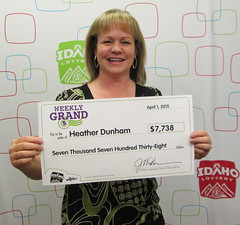 Heather Dunham - $7,738 Weekly Grand 2nd Chance
