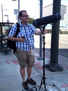 LA Listens- Steve sound walk