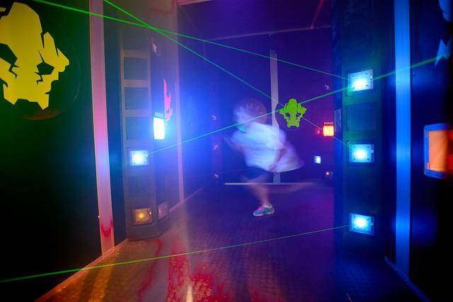 Laser Maze LEGOLAND