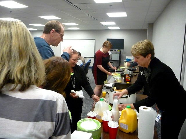North Shore Bank's 2015 UPAF Donation Campaign Kick-off & Pancake Breakfast