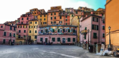 Riomaggiore - Piazza Vignaioli