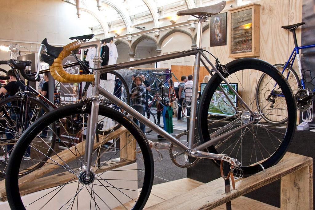 Malcom Track Bike @ bespoked Bristol