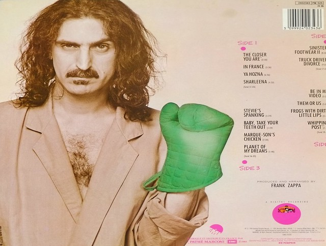 "FRANK ZAPPA THEM OR US DLP FRANCE FOC 12"" 2LP VINYL"
