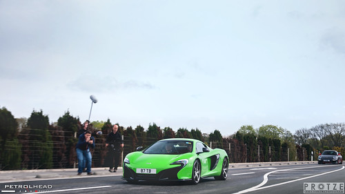 Mantis Green McLaren 650S.