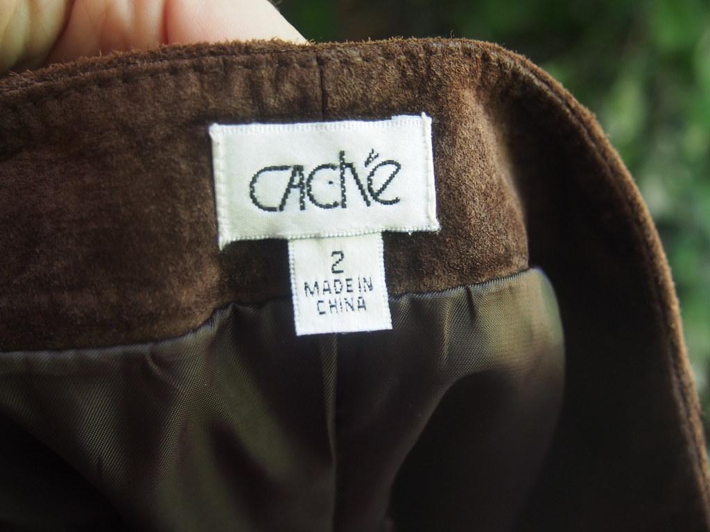 9ed2b5329892 Chocolate Brown Leather Mini Skirt – DACC