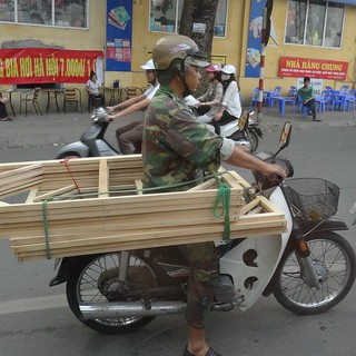Creative scooter transport