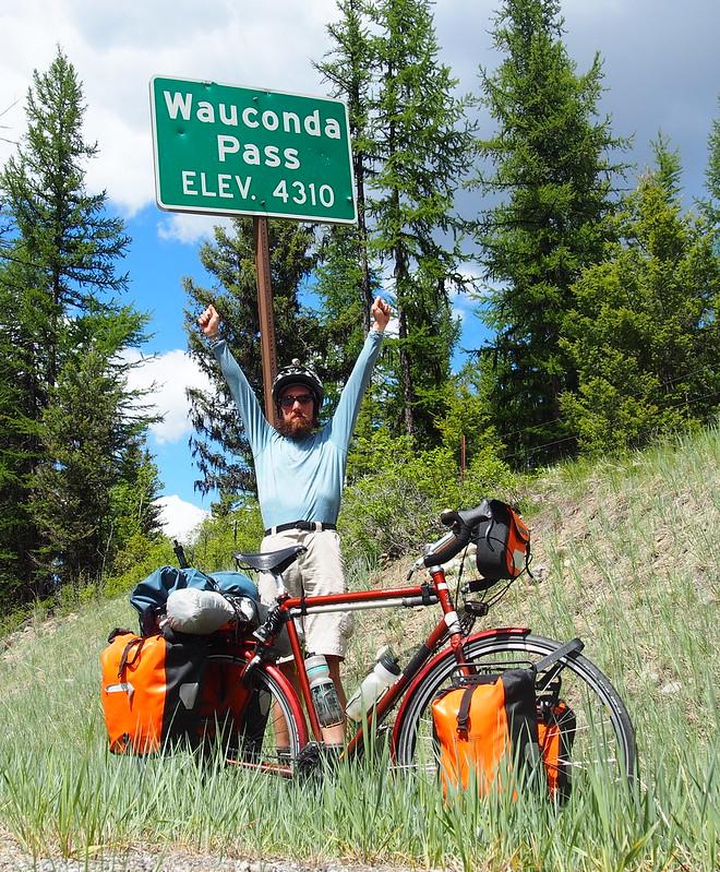 Wauconda Pass Summit: Victory!
